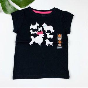 New Gymboree Puppy Princess T-shirt Top NWT